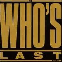 The Who Who´s Last album cover