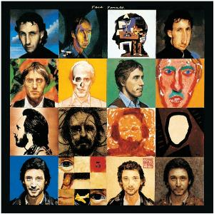The Who Face Dances album cover
