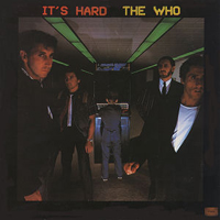 It's Hard by WHO, THE album cover