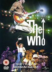 The Who - Maximum R&B Live CD (album) cover