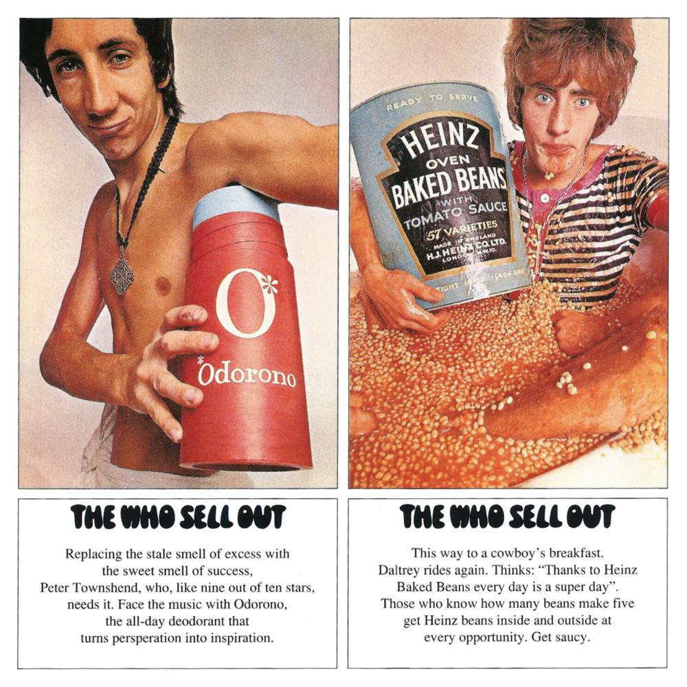 The Who Sell Out by WHO, THE album cover