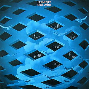 Tommy by WHO, THE album cover