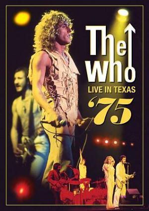 The Who Live in Texas '75 album cover