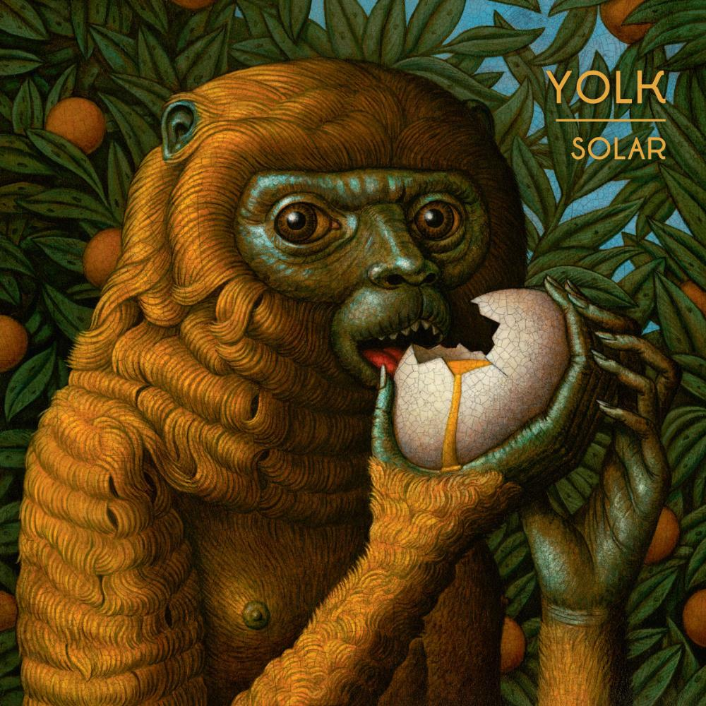 Yolk - Solar CD (album) cover