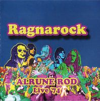 Ragnarock Live '74 by ALRUNE ROD album cover