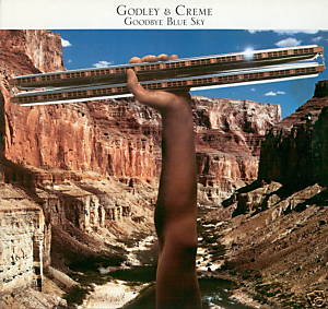 Godley & Creme Goodbye Blue Sky album cover