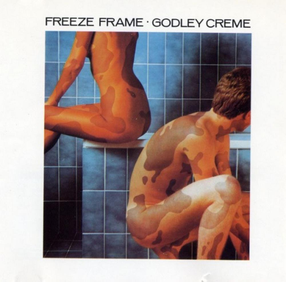 Godley & Creme - Freeze Frame CD (album) cover