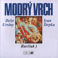 Dezo Ursiny - Modr� vrch CD (album) cover