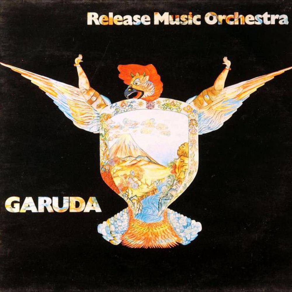 Garuda by RELEASE MUSIC ORCHESTRA album cover