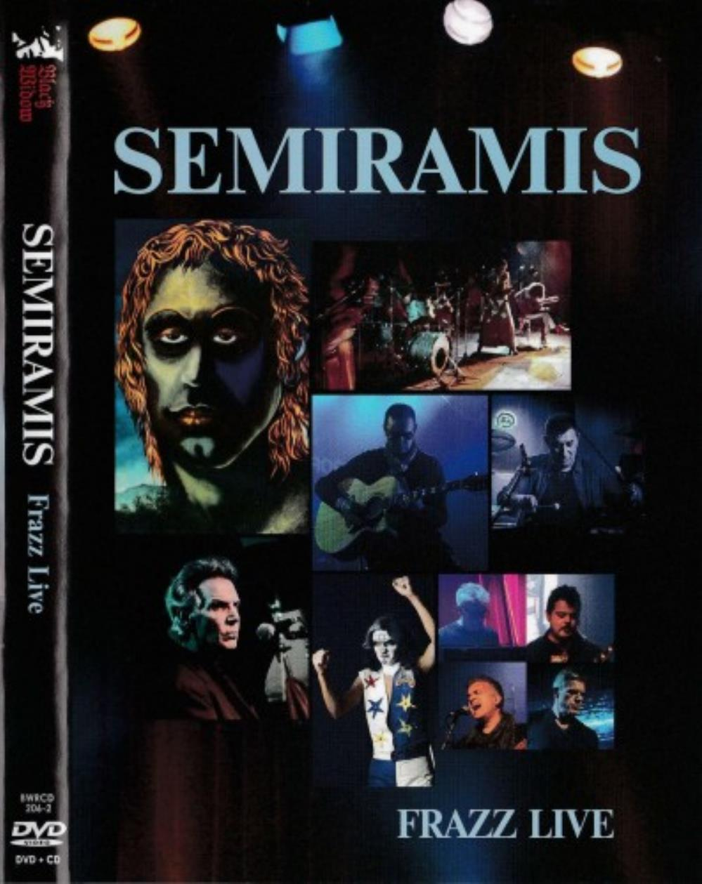 Semiramis - Frazz Live CD (album) cover
