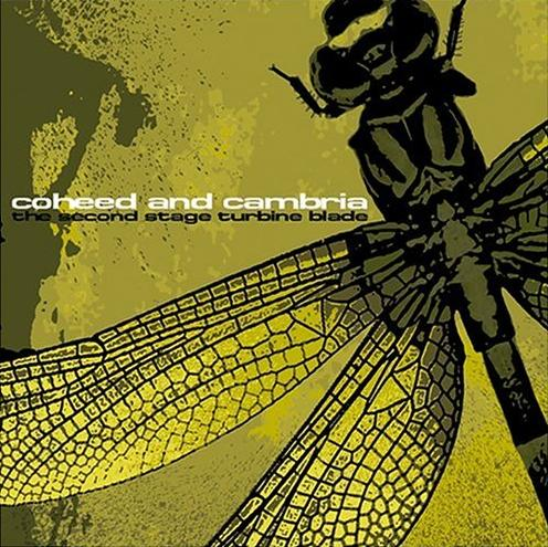 Coheed And Cambria - The Second Stage Turbine Blade CD (album) cover