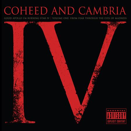 Coheed And Cambria - Good Apollo, I'm Burning Star IV, Volume One: From Fear Through the Eyes of Madness CD (album) cover