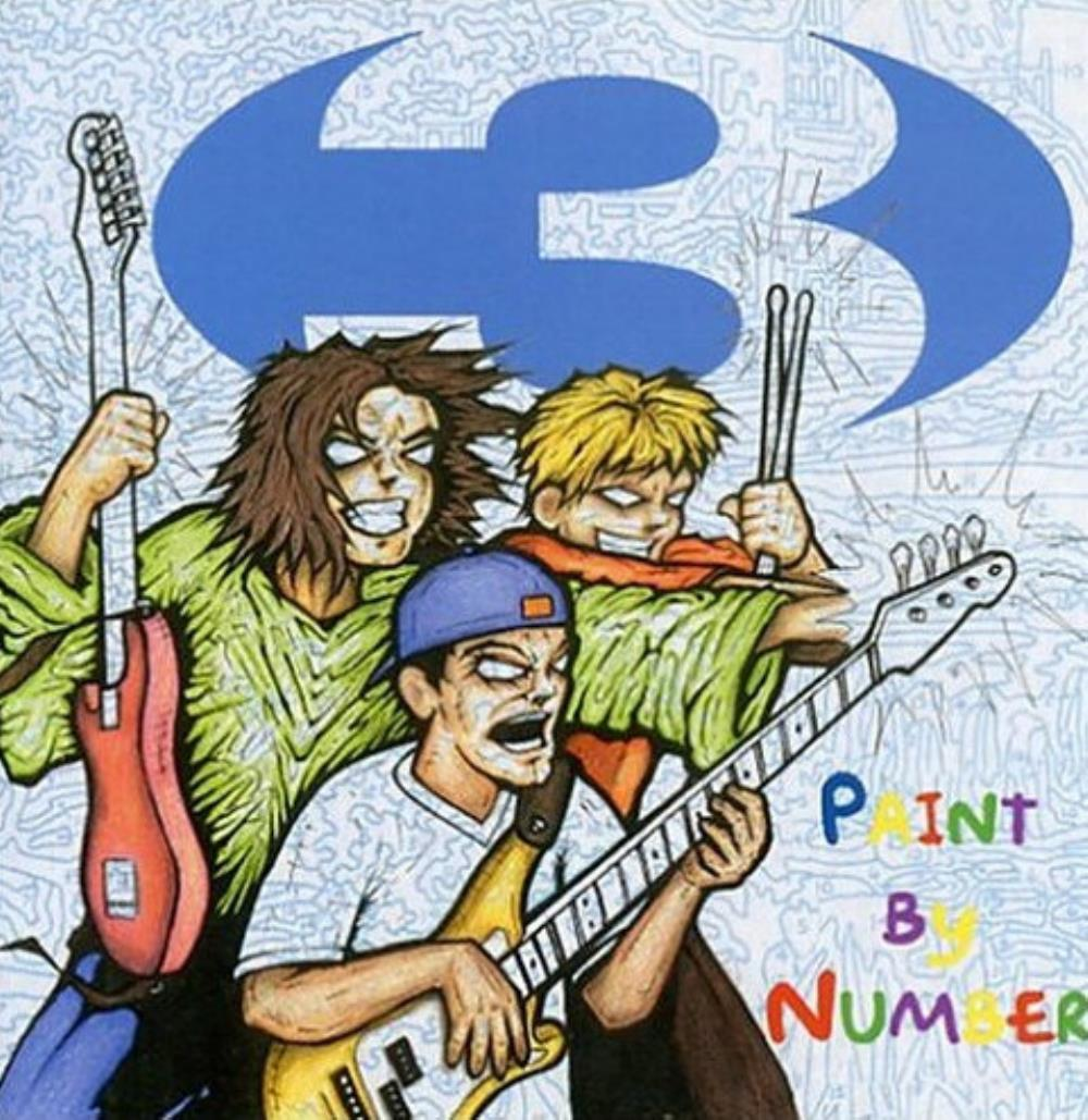 3 - Paint By Number CD (album) cover