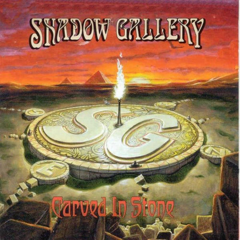 Carved In Stone by SHADOW GALLERY album cover