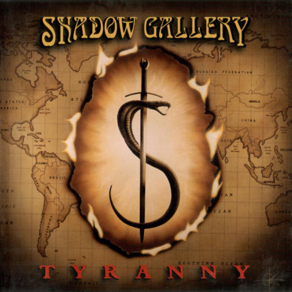 Shadow Gallery - Tyranny CD (album) cover