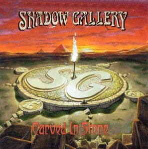 Shadow Gallery - Carved In Stone  CD (album) cover