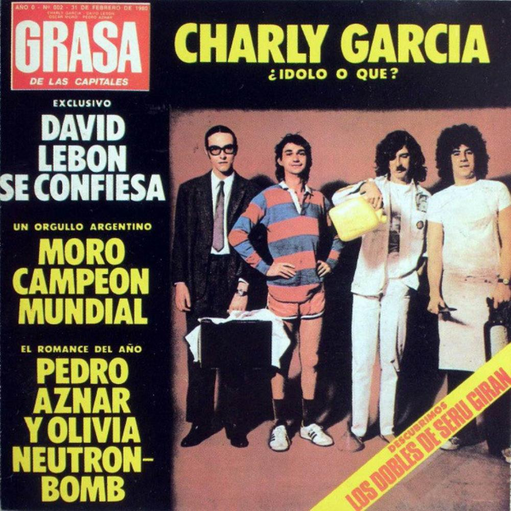 Grasa De Las Capitales by SERÚ GIRÁN album cover