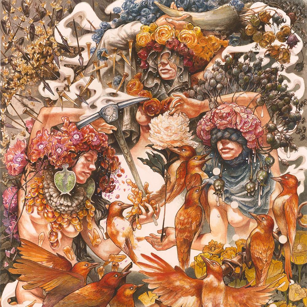 Gold & Grey by BARONESS album cover