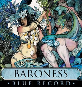Baroness - Blue Record CD (album) cover