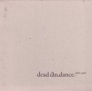 Dead Can Dance - Dead Can Dance (1981-1998) CD (album) cover