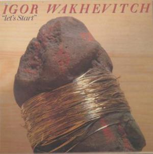Igor Wakhevitch Let's Start album cover