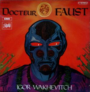 Igor Wakhevitch - Docteur Faust CD (album) cover