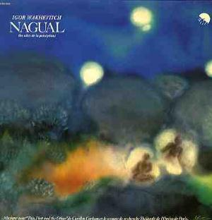 Igor Wakhevitch - Nagual (les ailes de la perception) CD (album) cover