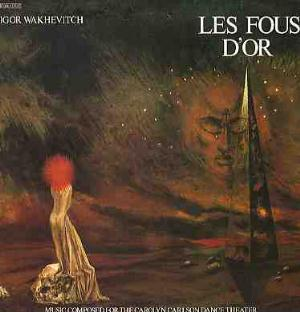 Igor Wakhevitch Les Fous D'or album cover