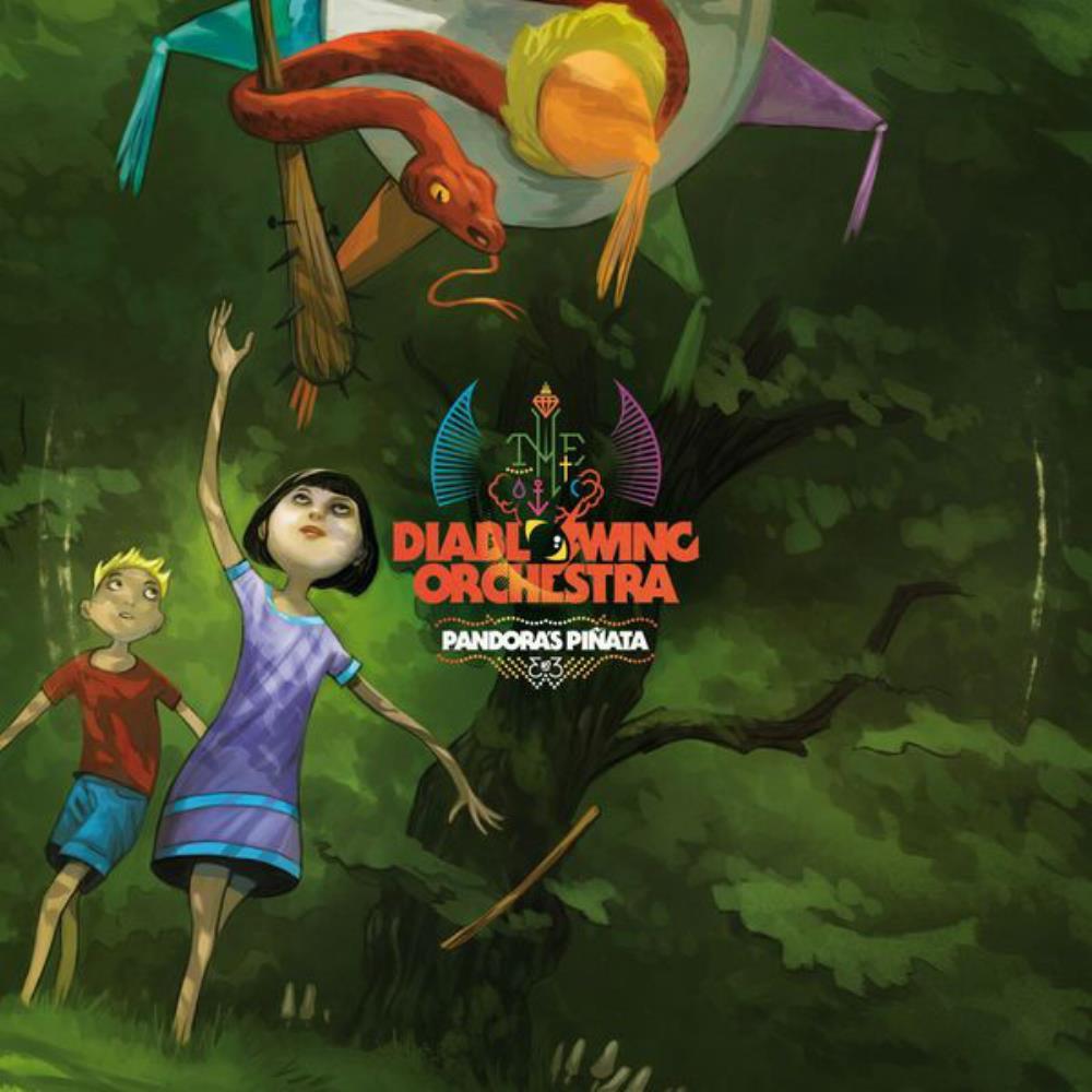 Pandora's Piñata by DIABLO SWING ORCHESTRA album cover