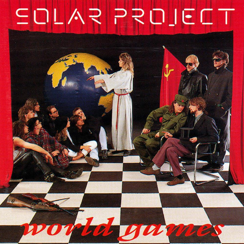 Solar Project World Games album cover