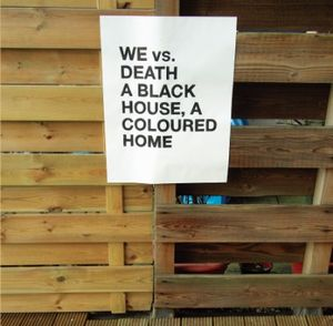 We vs. Death - A Black House, A Coloured Home CD (album) cover