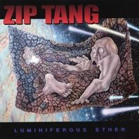 Zip Tang - Luminiferous Ether CD (album) cover