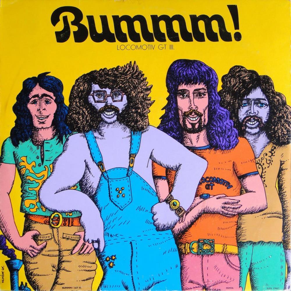 Bummm ! by LOCOMOTIV GT album cover