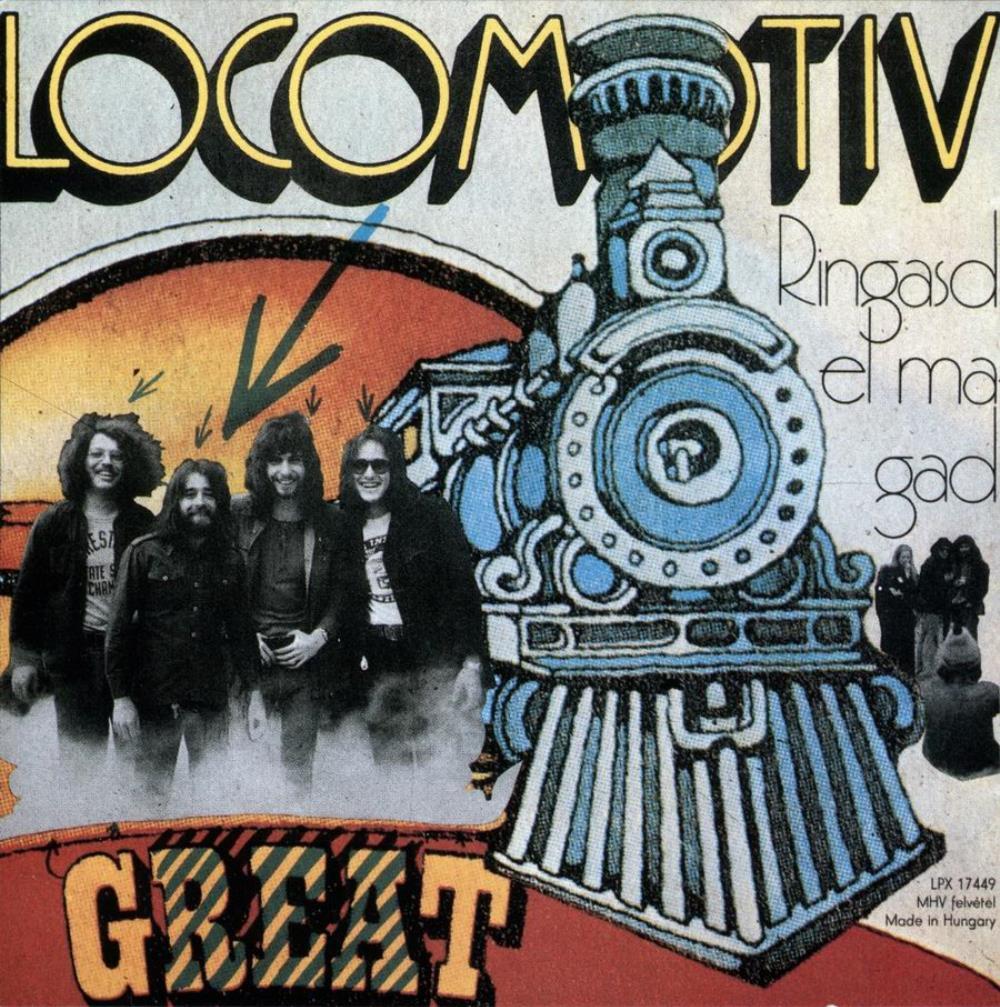 Ringasd El Magad by LOCOMOTIV GT album cover