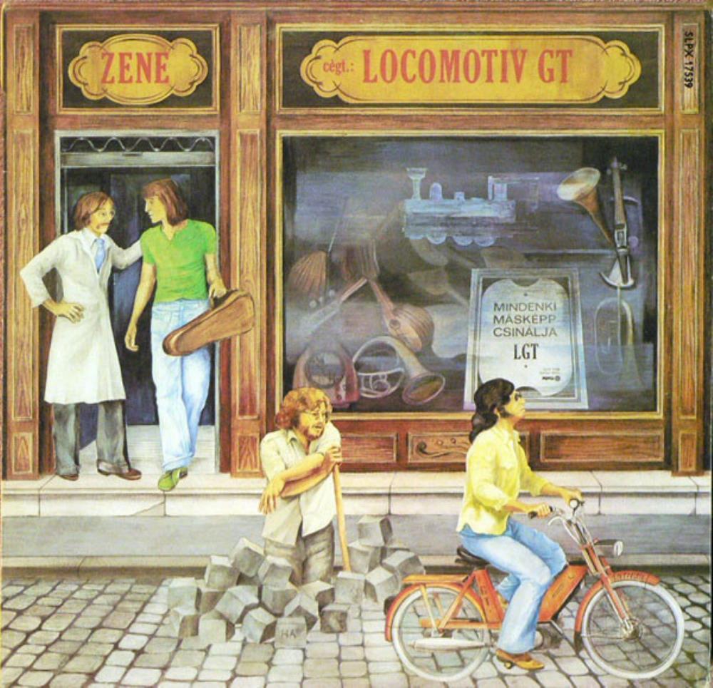Zene - Mindenki Másképp Csinálja  by LOCOMOTIV GT album cover