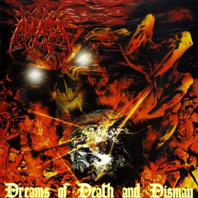 Dreams of Death and Dismay by ANATA album cover