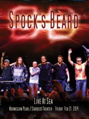 Spock's Beard Live at Sea album cover