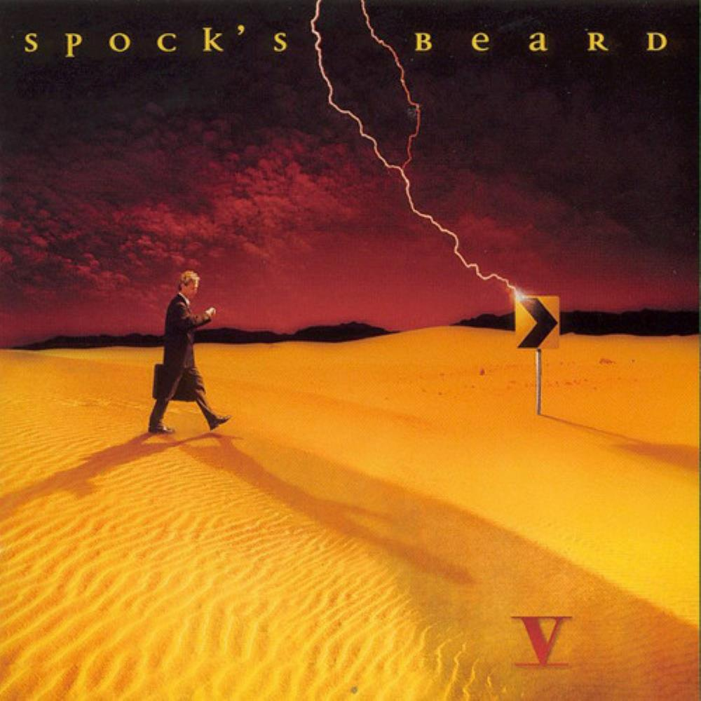 Spock's Beard - V CD (album) cover