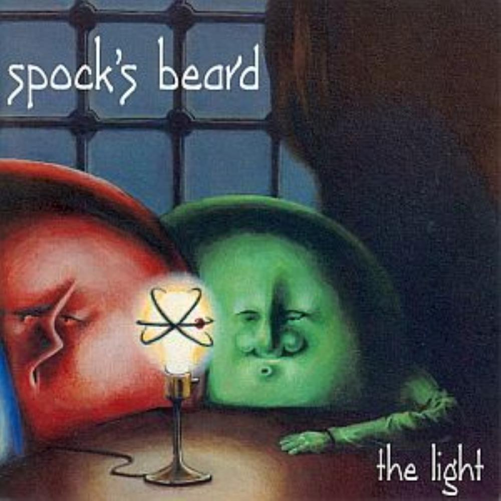 The Light by SPOCK'S BEARD album cover