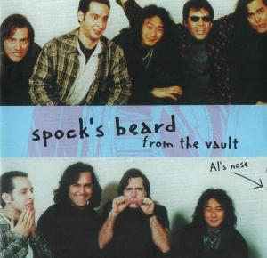 Spock's Beard From the Vault  album cover