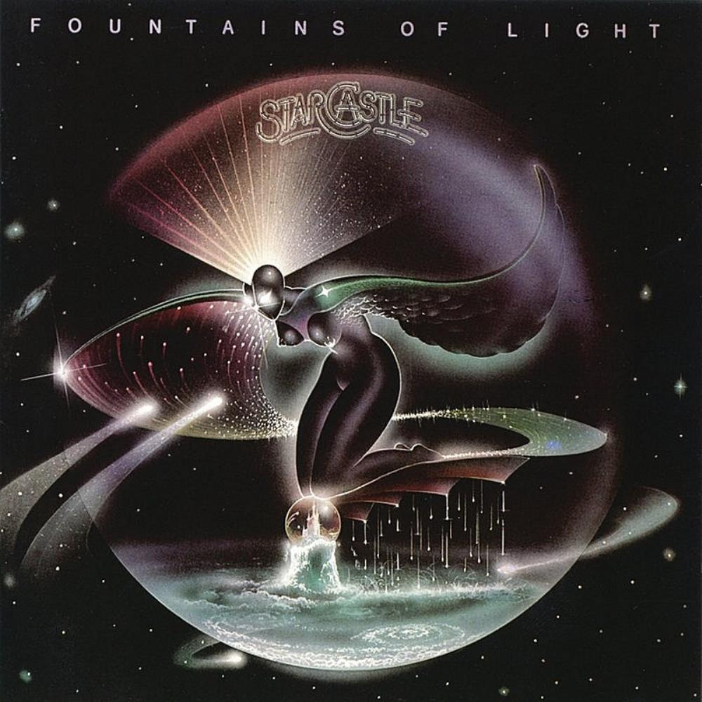 Fountains Of Light by STARCASTLE album cover