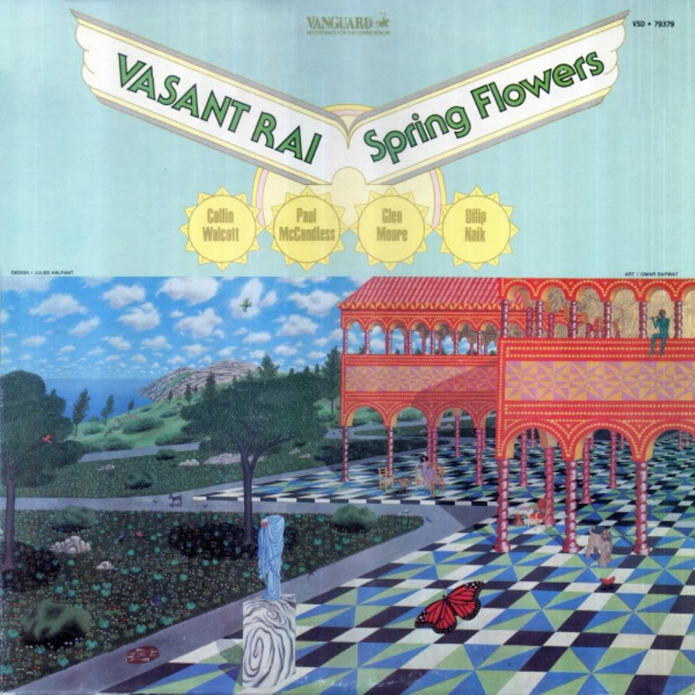 Vasant Rai Spring Flowers album cover