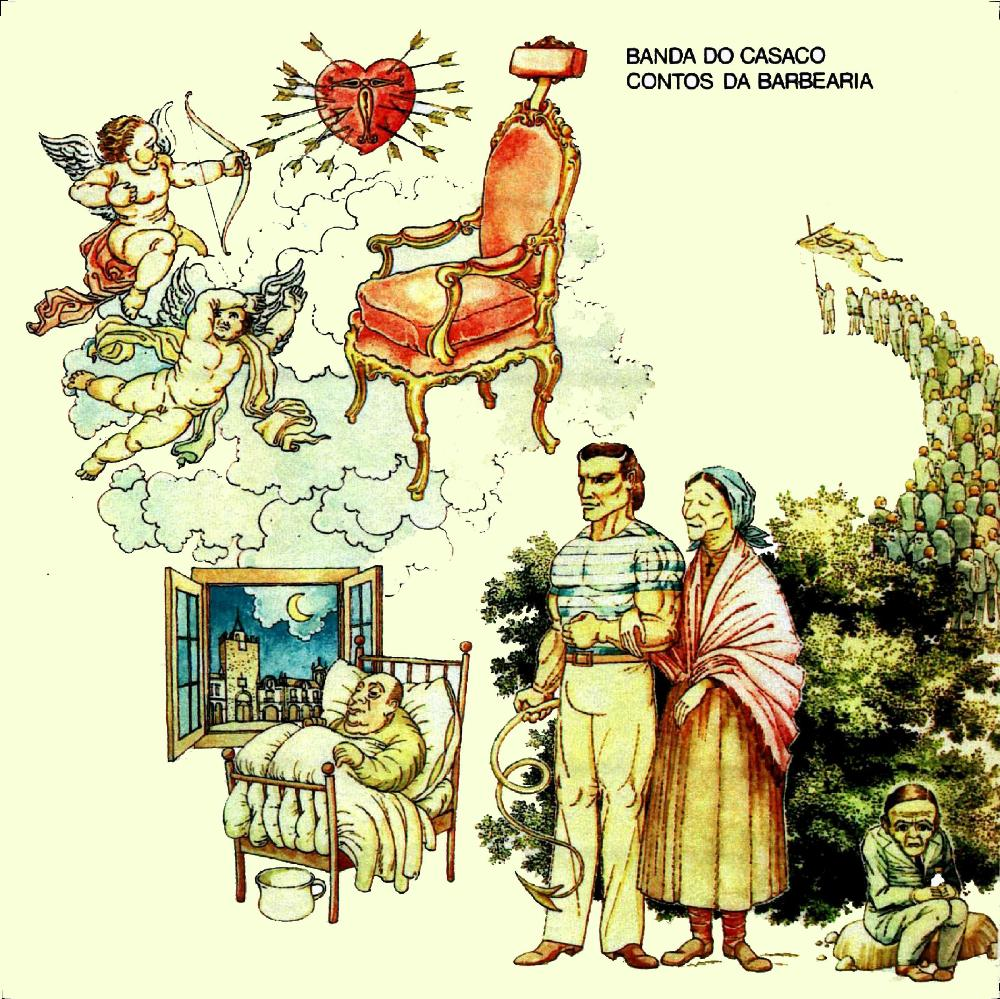 Contos Da Barbearia by BANDA DO CASACO album cover