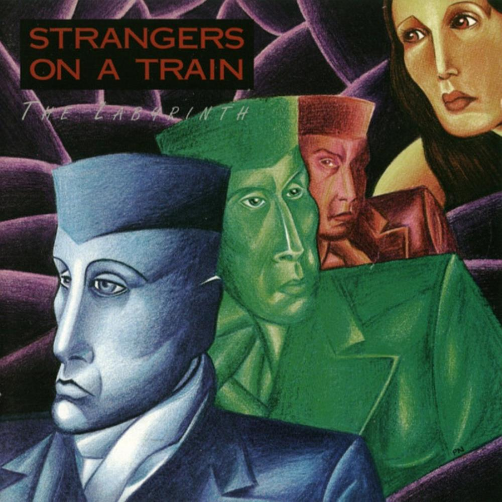 Strangers On A Train - The Key, Part II - The Labyrinth CD (album) cover