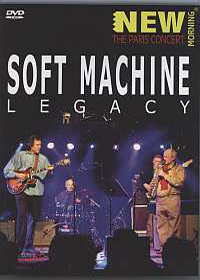 Soft Machine Legacy - New Morning -The Paris Concert  CD (album) cover