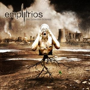 The Glorious Sickness by EMPYRIOS album cover