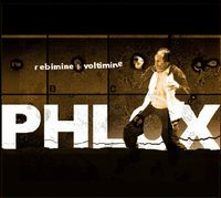 Phlox - Rebimine and Voltmine CD (album) cover