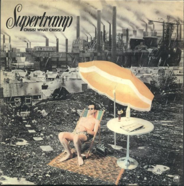Supertramp - Crisis? What Crisis? CD (album) cover
