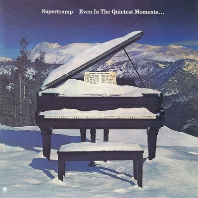 Supertramp Even in the Quietest Moments....  album cover