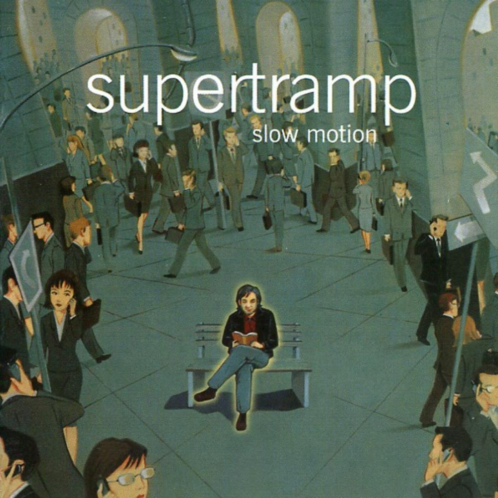 Supertramp Slow Motion album cover